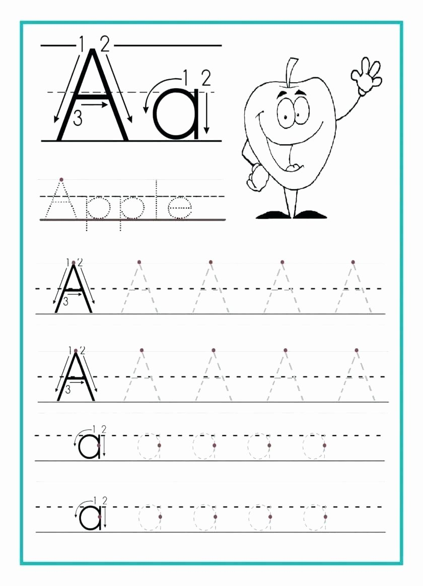 Writing the Alphabet Worksheets for Preschoolers Beautiful Math Worksheet Alphabet Writing Worksheets for Kids