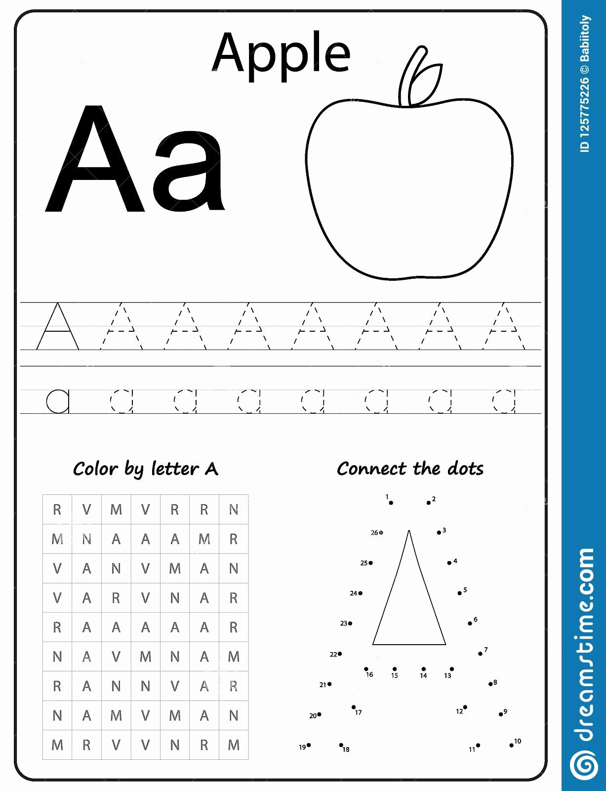 Writing the Alphabet Worksheets for Preschoolers Inspirational Writing Letter A Worksheet Writing A Z Alphabet