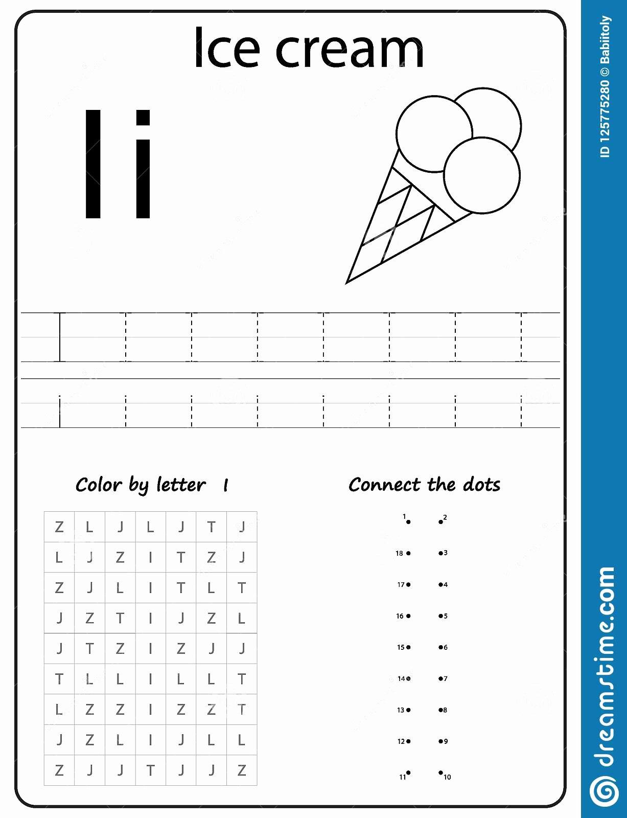 Writing the Alphabet Worksheets for Preschoolers Inspirational Writing Letter I Worksheet Writing A Z Alphabet