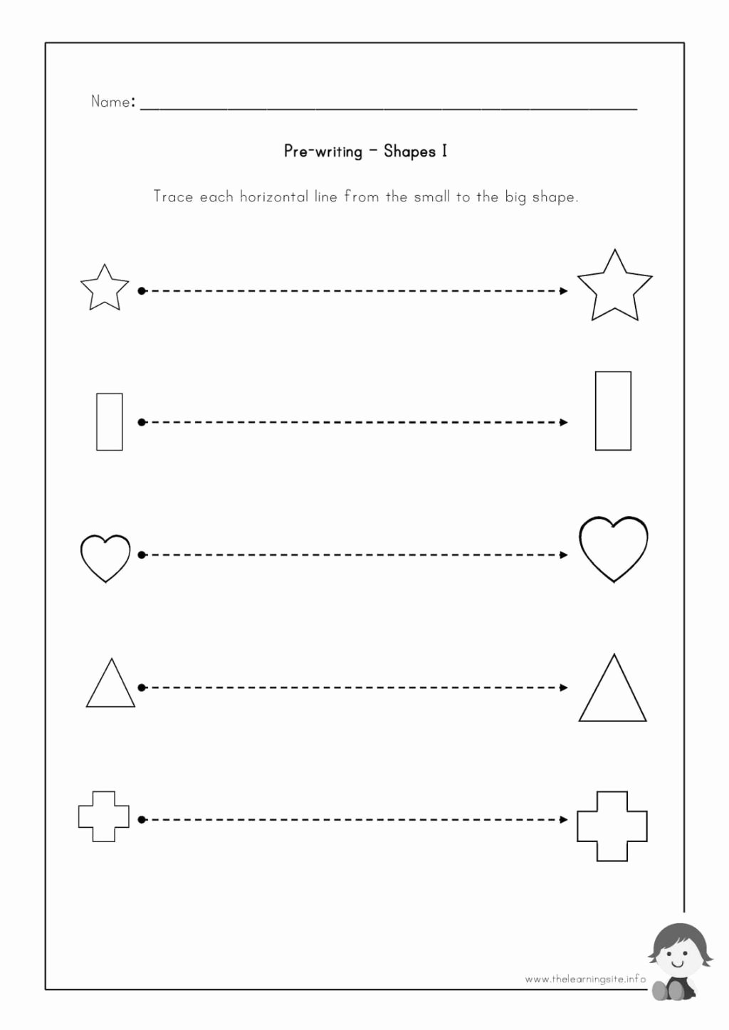 Writing Worksheets for Preschoolers Best Of Worksheet Pre Writing Worksheets to Educations Outstanding