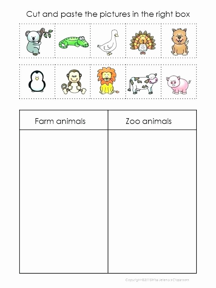 Zoo Worksheets for Preschoolers Unique Zoo Worksheets Kindergarten – Keepyourheadup